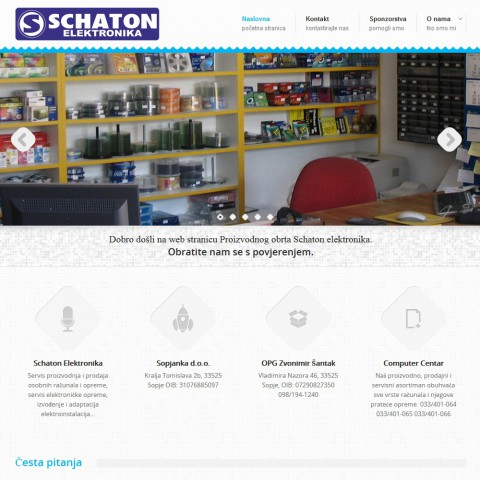 schaton-elektronika.hr